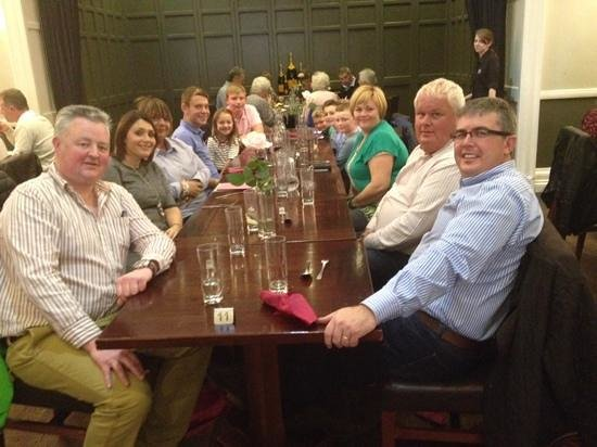 The Cawdor: Having Sunday lunch with great friends