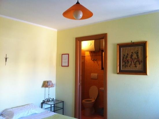 Torre Clementina: my room