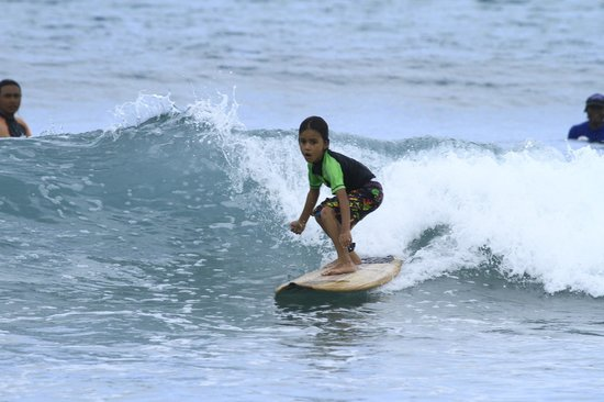 UP2U Surf School Bali: Mr Manu our SUPER GROM