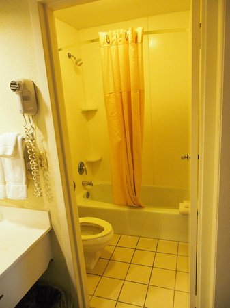 Clarion Inn & Suites: Bathroom