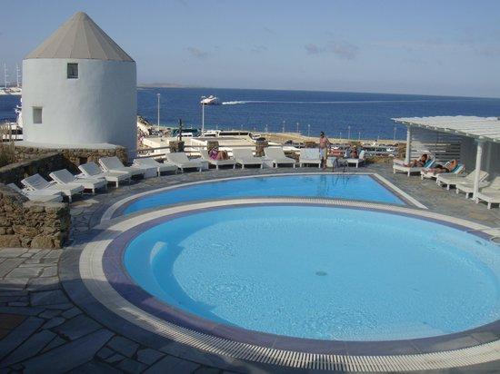 Porto Mykonos Hotel: Vista do hotel