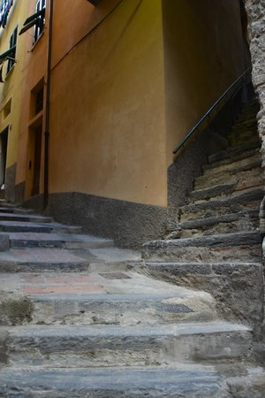 Trattoria Gianni Franzi: Stairs to our room