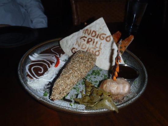 Indigo Grill : brie appetizer