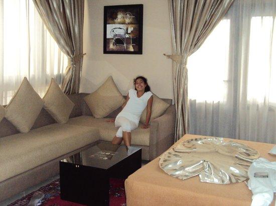 Suite Hotel Tilila: Chambre double exposition