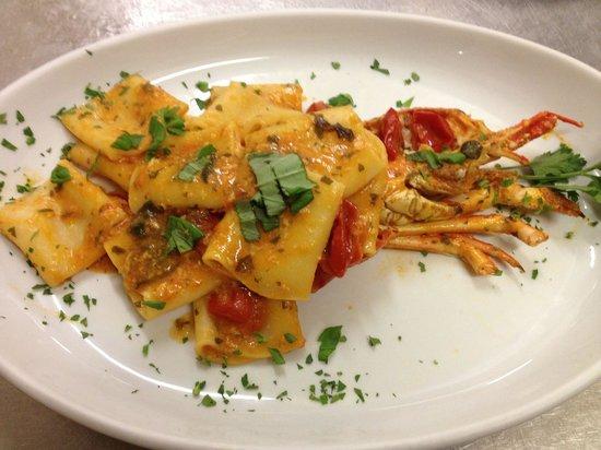 Paccheri con aragosta sarda rosa foto di ristorante new for Ristorante da giulio milano
