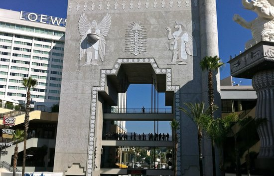 loew s and gate of babylon picture of loews hollywood hotel los