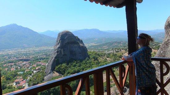Agios Nikolaos Anapaphsas: Вид с балкона