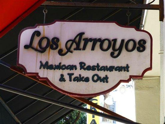 Los Arroyos Mexican Restaurant: Los Arroyos sign