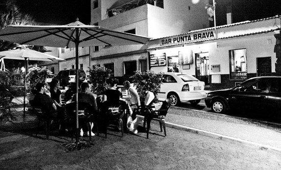 Restaurante Punta Brava : terraza