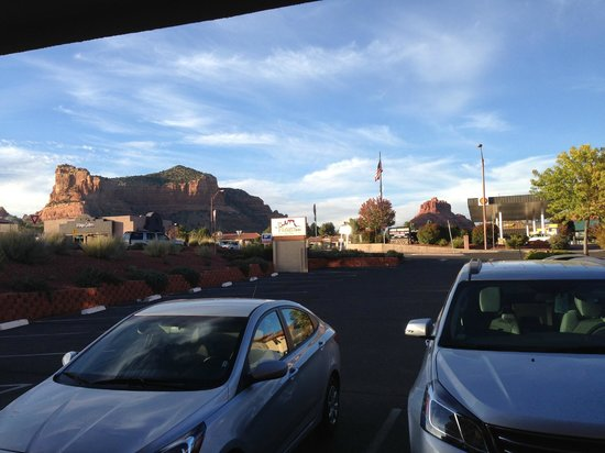 The Views Inn Sedona: Room with a great view