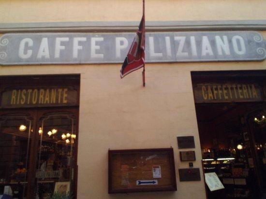 Caffe Poliziano: Outside