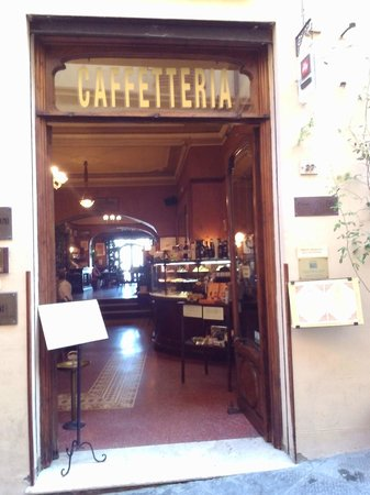 Caffe Poliziano : Outside