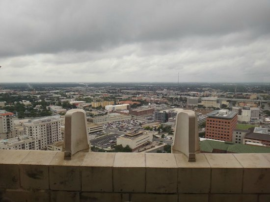 Tower Life Building: View from an upper floor