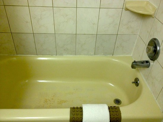 Quality Inn Boardwalk : bathtub/shower