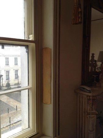 The Dawson Hotel & Spa: One of the windows.