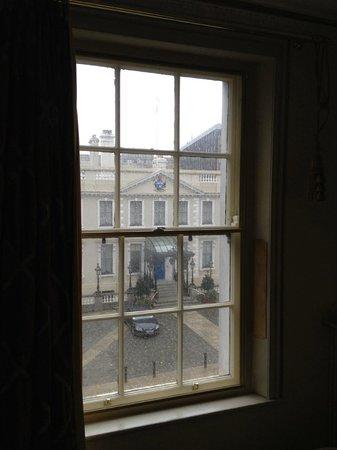 The Dawson Hotel & Spa: The view.