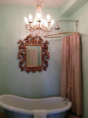 Ridiculous Shower Curtain The Dawson Hotel Bathtub Area