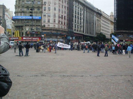 Novotel Buenos Aires: Praça 9 de julho