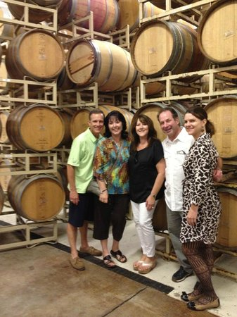 Bell Wine Cellars : Maggie (on right) with our family.