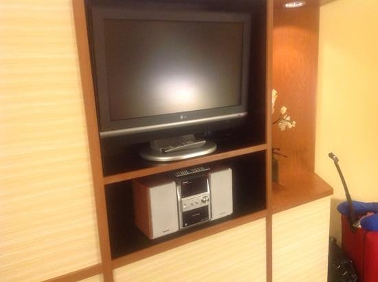 Fairfield Inn & Suites Jacksonville Airport : Entertainment area