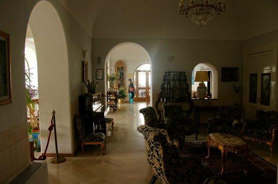 Hotel San Michele : dentro del loby