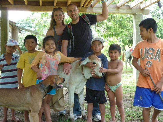 Panama Horseback Adventures: With the sweet village children!