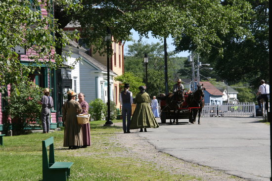 Get your hands-on history at Sherbrooke Village!