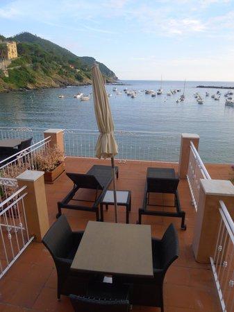 Hotel Miramare Sestri Levante: private terrace for the suite