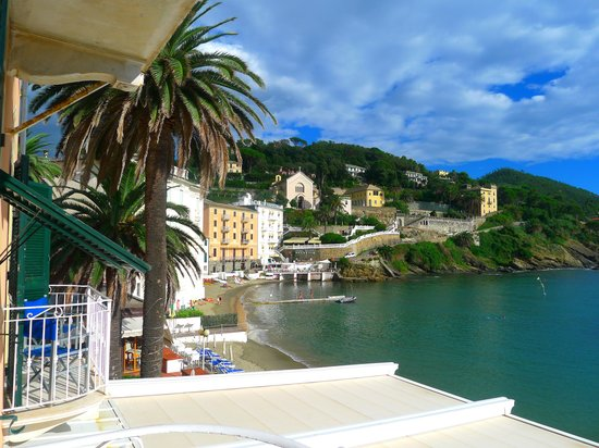 Hotel Miramare Sestri Levante: view from room