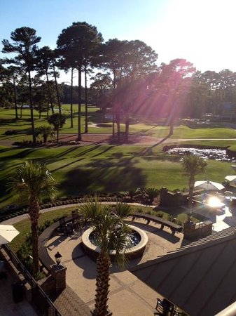 Inn & Club at Harbour Town - Sea Pines Resort: View from room 309