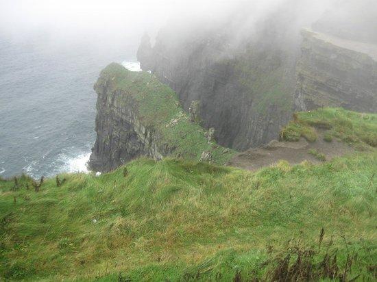 Liscannor, Ireland: Cliff view
