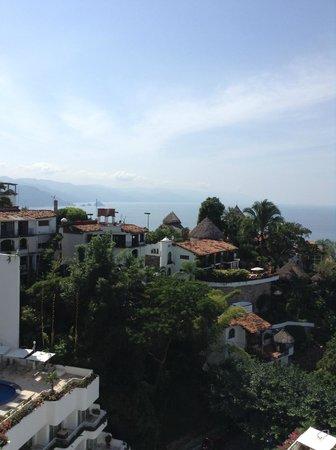 Grand Miramar All Luxury Suites & Residences : terraza con vista