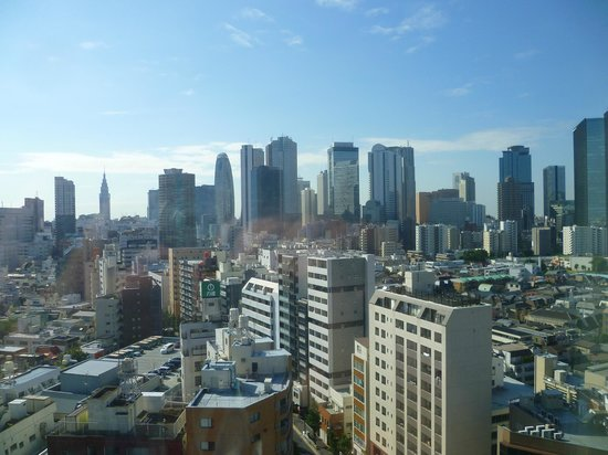 Hundred Stay Tokyo Shinjuku: the view from level 13