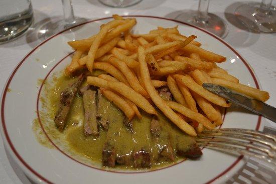 Le Relais De Venise - Marylebone: steak and fries