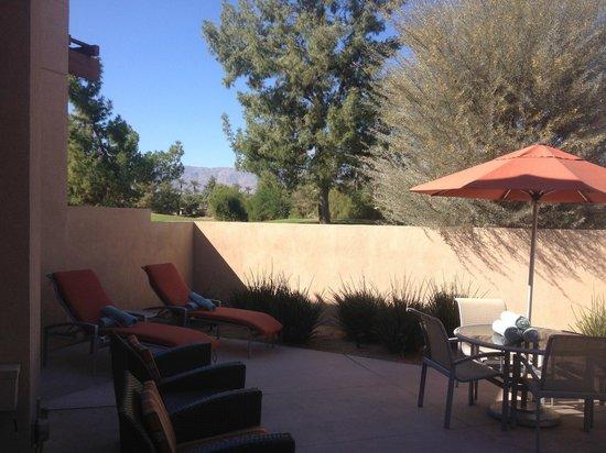 Hyatt Regency Indian Wells Resort & Spa : Patio - 1 Br Villa