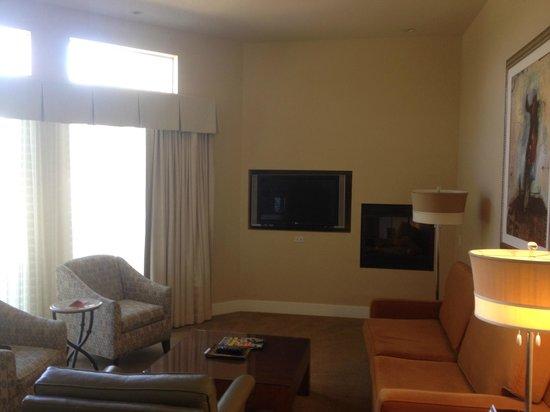Hyatt Regency Indian Wells Resort & Spa : Living Room - 1 Br Villa