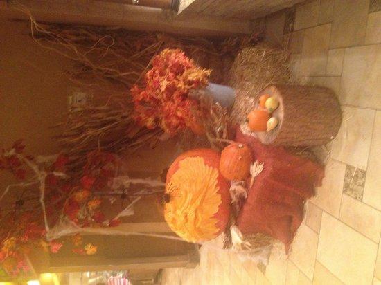 Carnival World Buffet: Halloween display!