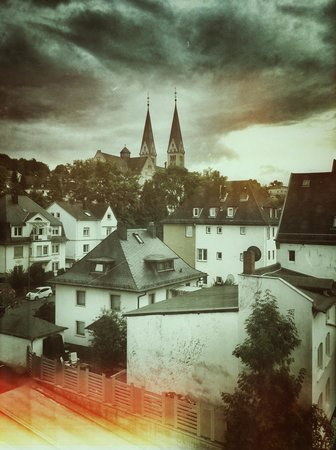 H+ Hotel Siegen: View from the room
