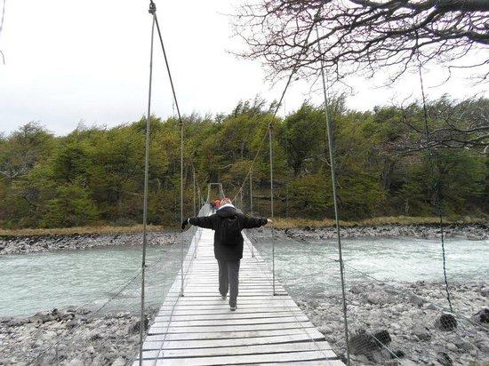 Lago Grey Hosteria and Navegacion: Caminhada até próximo ao Glaciar Grey