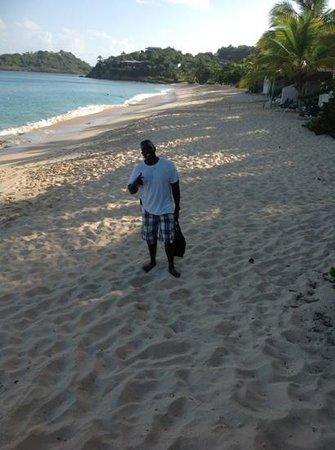 Galley Bay Beach: captain Sean