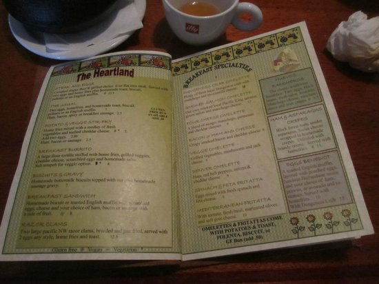 The Drift Inn: Menu