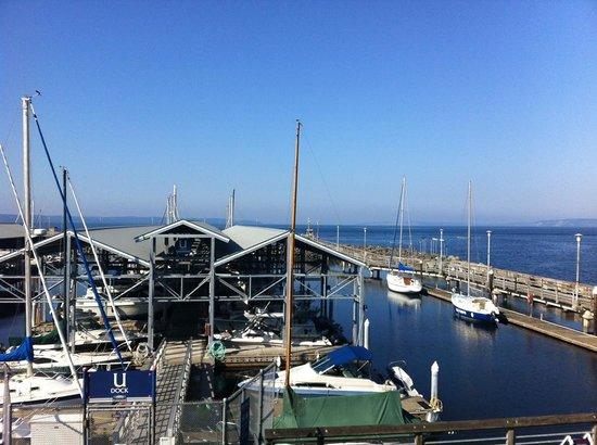 Arnie's Restaurant & Bar - Edmonds: View from the deck