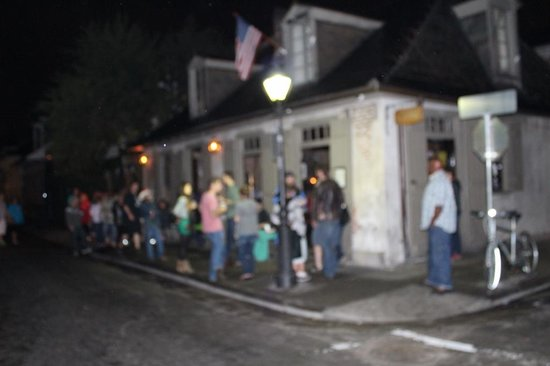 Haunted History Tours of New Orleans : La Fitte's Blacksmith Shop