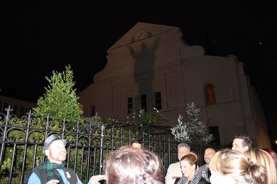 Haunted History Tours of New Orleans: St Louis Cathedral