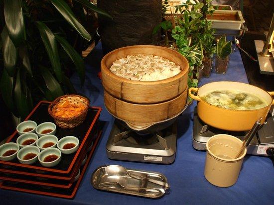 Resort Pia Hakone: jantar 2