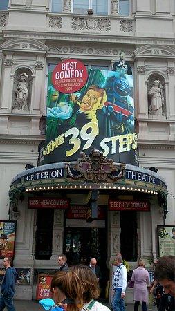 The 39 Steps : Criterion facade