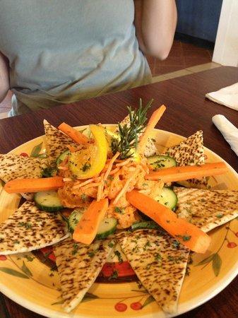 Rejavanation Cafe : Hummus Plate