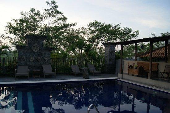 Taman Harum Cottages: pool
