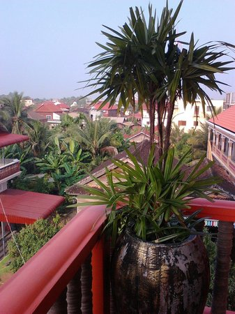 Golden Butterfly Villa: View from the balcony