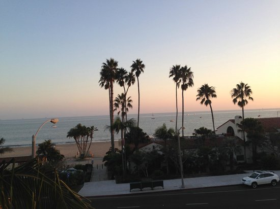 Hyatt Centric Santa Barbara : View from the room window